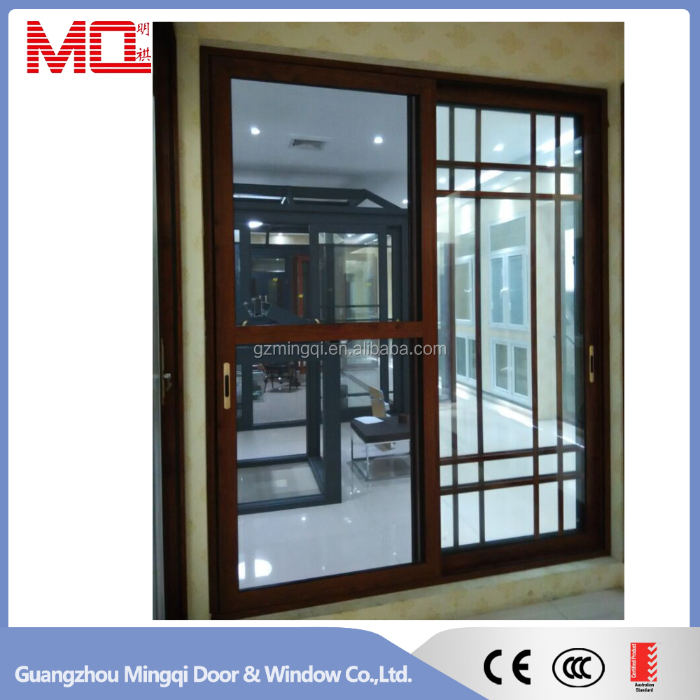 Grills inside sliding glass aluminium doors and windows for Window design 2016 philippines