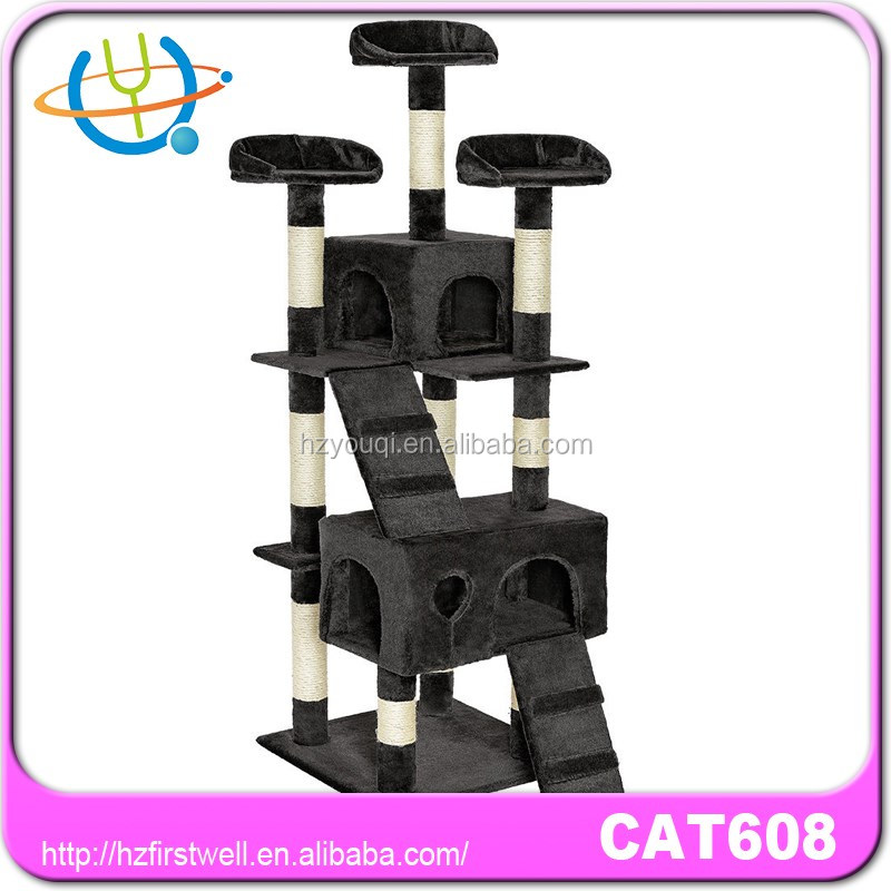 Pet Cat Tree Condo Furniture Jungle Gym Cat Tree 80'' Condo Furniture Scratching