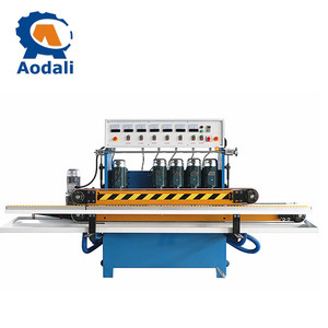 Small glass mirror beveling machine Glass grinding and polishing machine