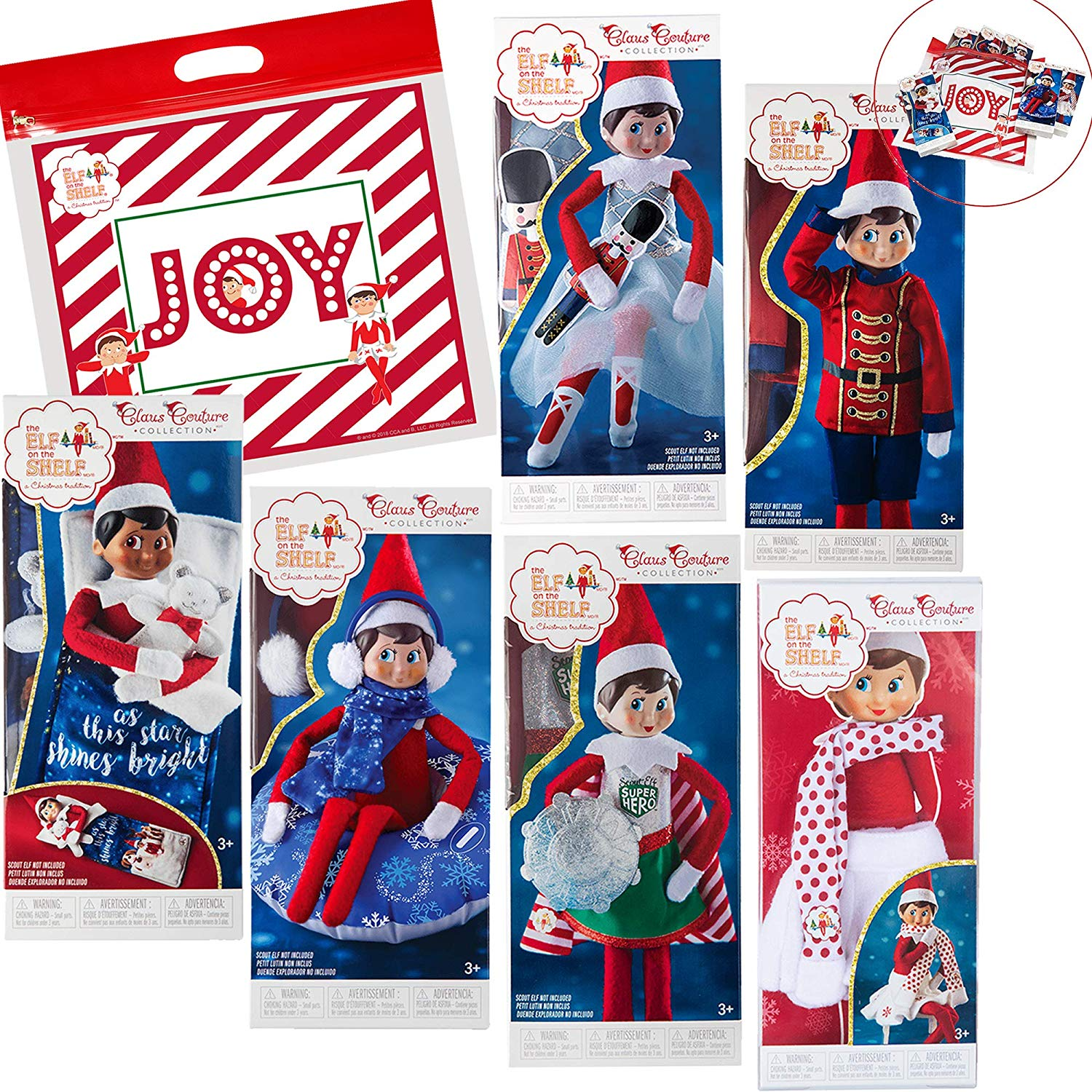 1f115e2d403 Elf on The Shelf Claus Couture All New 2018 Ultimate Scout Elf Accessories  Pack