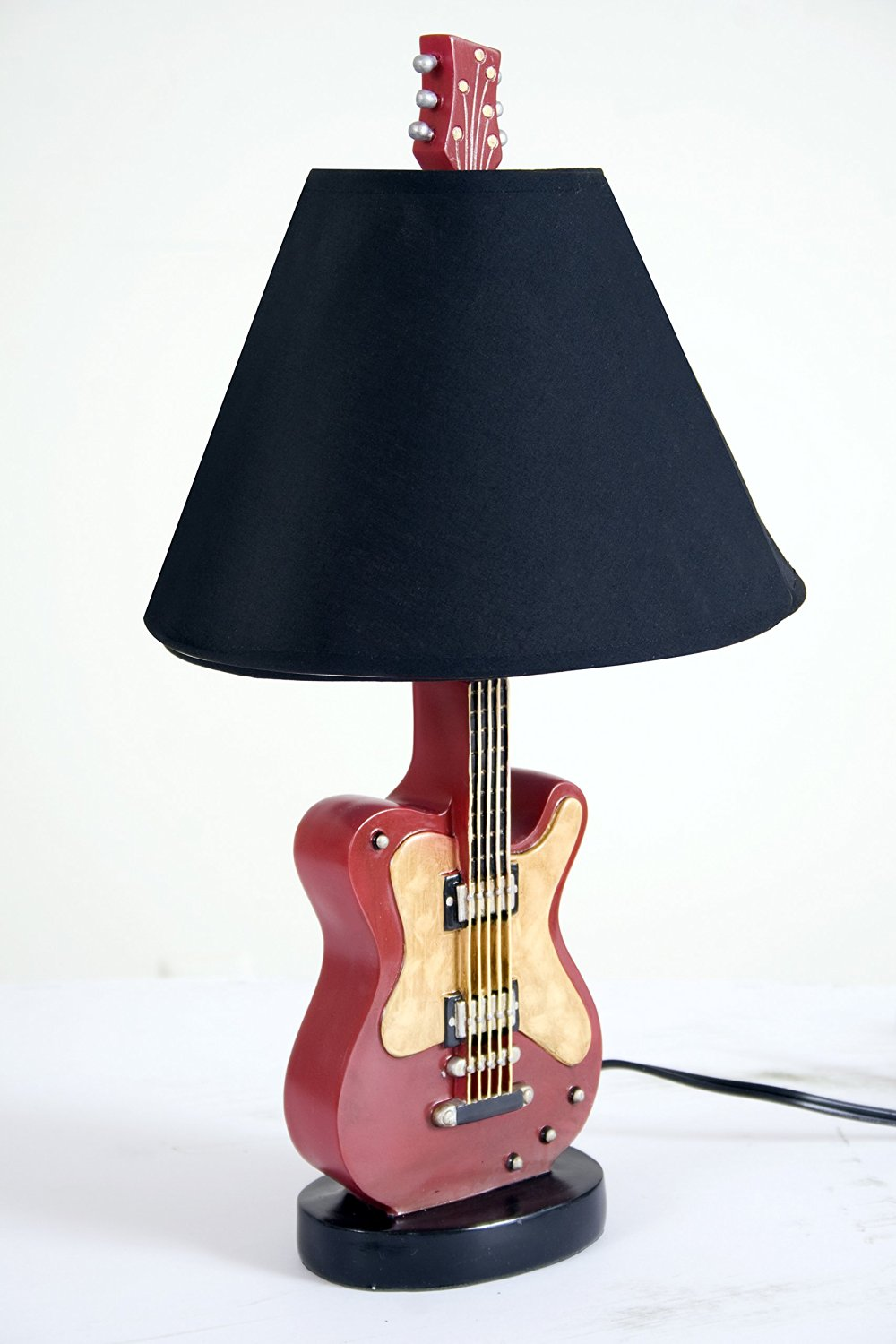 Cheap guitar lamp find guitar lamp deals on line at alibaba get quotations blysh ceramic table top lamp guitar design beautiful decoration idea for home living room aloadofball Images