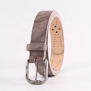 2019 Best Selling Hollow Style Colorfor Ladies Belt PU Belt