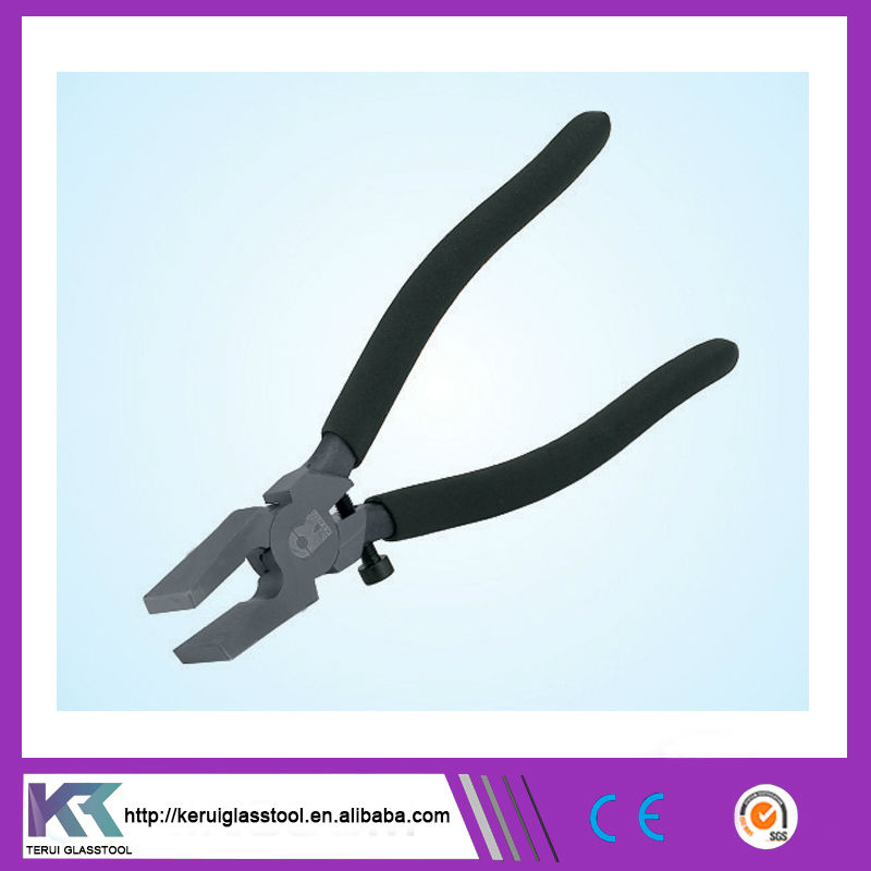 glass cutter plier mending pincher with flat nozzle (V110)