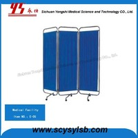Cheap Stainless Medical Hospital Portable Bed Screen Curtain Partitions on Sale