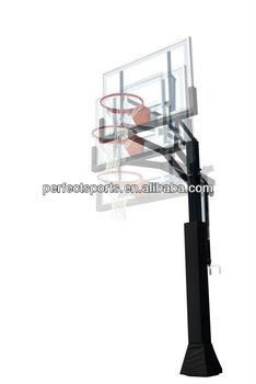 Basketball System With Height Adjustment Mechanism