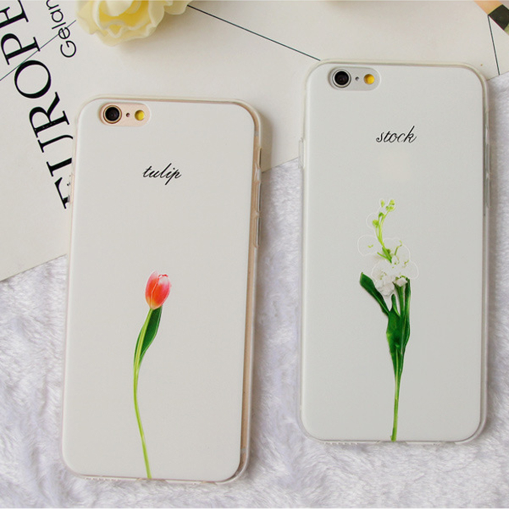 on sale c25c7 2f882 Simple Design Fresh Plant 3d Relief Tulip Flower Painting Rose Phone Case -  Buy Simple Design Fresh Plant Phone Case,3d Relief Tulip Flower Phone ...