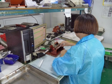 Inspecting (LED Diode)