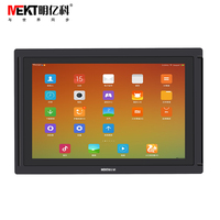 AP101WX industrial embedded Tablets 10.1 inch Android multi-touch screen monitors RJ45 USB