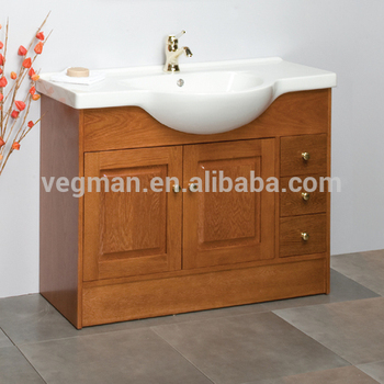 Curved Commercial Solid Wood Bathroom Vanity Units Made In China Clic
