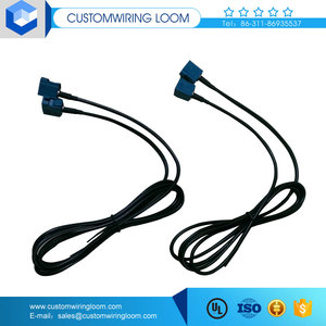 din connector car radio antenna coaxial cable with waterproof connector