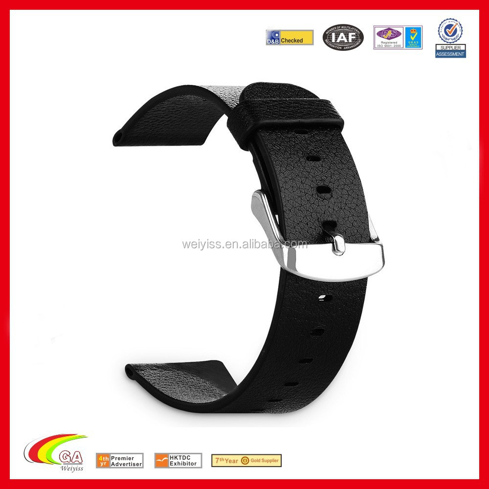 Factory Direct Supply Genuine Leather 42mm Watch Band For Apple Watch