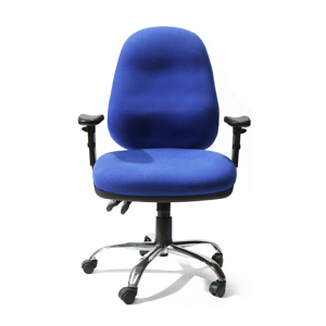 Classical Mid back comfort fabric office long back chair AD0207