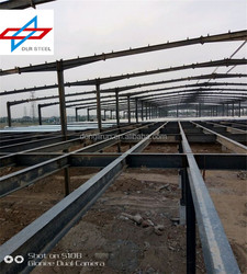 Prefabricated Steel Structure Second Floor Two Story Warehouse