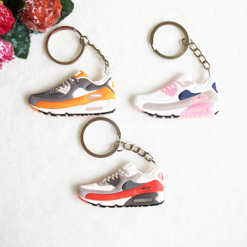 Personalized Gifts Airer 90 Keychain Sneaker Keychain Key Chain Key Ring Key Holder Souvenirs Llaveros Chaveiro