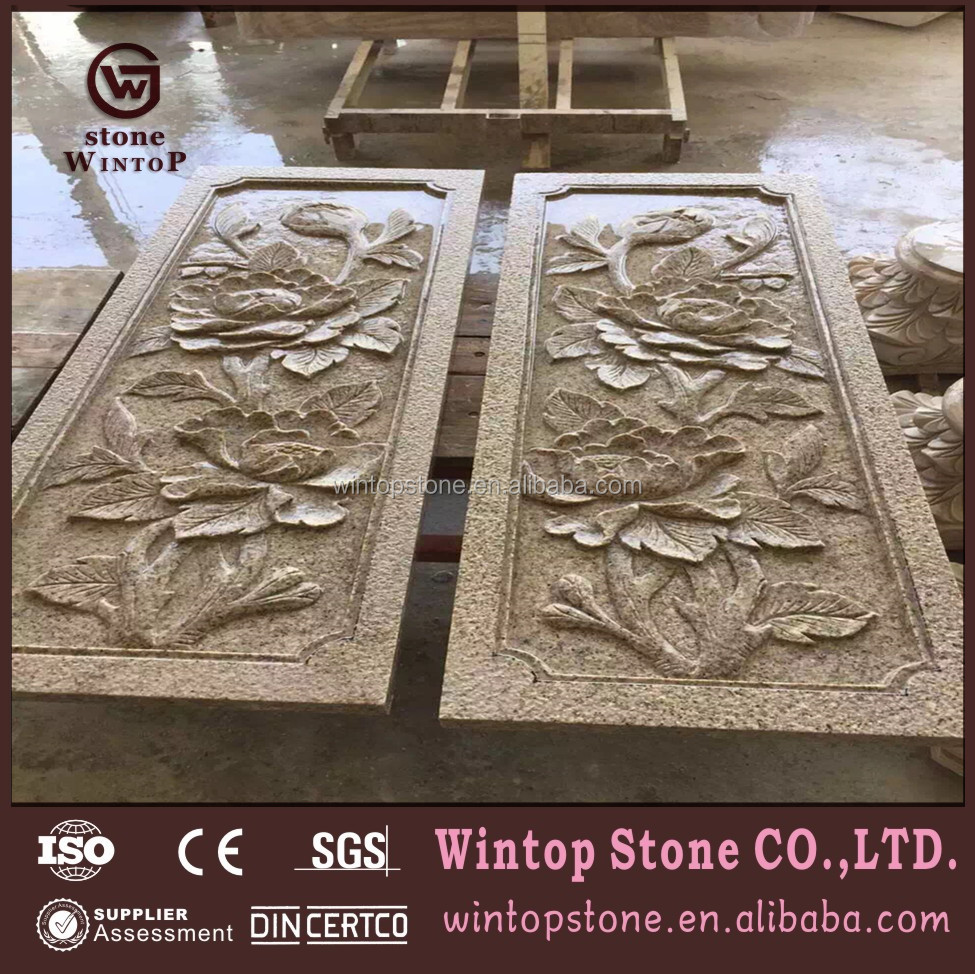 carved marble wall art decoration, carved marble wall art