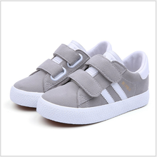 KS20379S 2018 British style kids PU leather shoes wholesale
