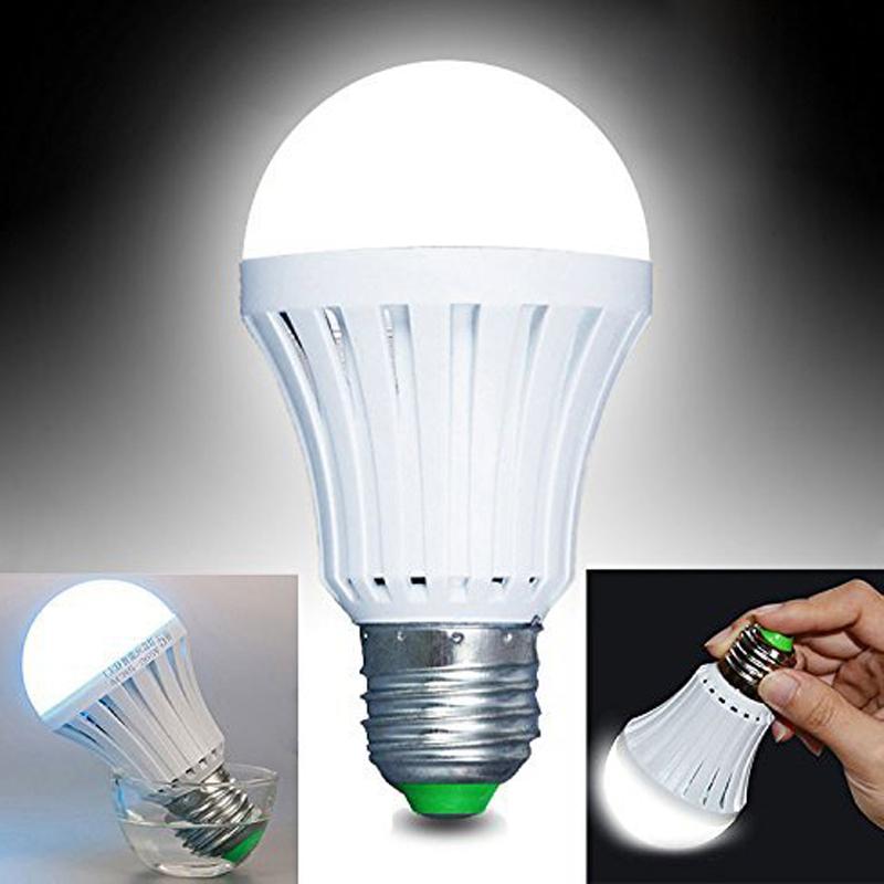 China Supplier ac dc E27 B22 Emergency Rechargeable Led Bulb Led Bulb