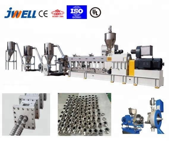 JWELL - LDPE BOPP Snack packing bags recycle pelletizing machine