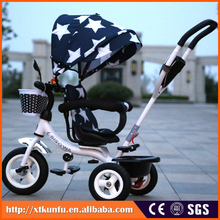 anti wear reticular surface multi position reclining baby stroller 3-in-1