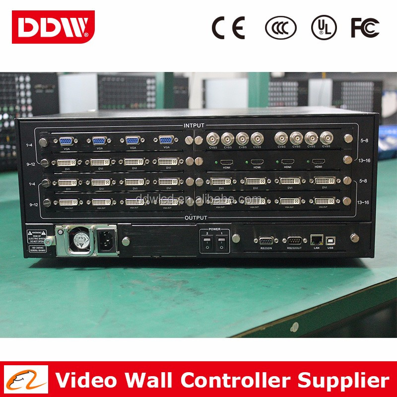 DDW-VPH3636 FHD 4K LCD TV Wall Controller/Processor With Video Wall Software