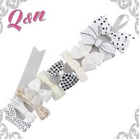Hot Sales Fashionable Hair Accessories Customized Kids Girls Ribbon Hair Bows
