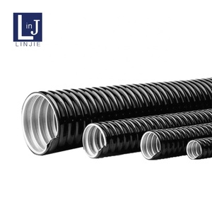 Corrugated Coated PVC Double Locked Flexible Conduit