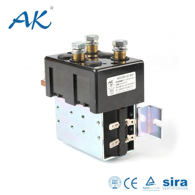 Electrical Contactor 12v 24v 200a Dc Electromagnetic Relay For Motor  Controller - Buy 12v 24v Dc Motor Controller Relay,12v 24v 200a Dc