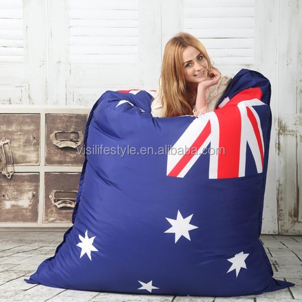 Visi Beanbag Flag Printing Beanbag Sofa Chair Uk Flag Seat Zac