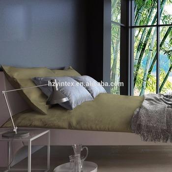100% Organic Germany Bamboo Bed Sheet Set/pure Bamboo Bed Sheets Wholesale
