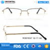 Wholesale Metal Rectangle Spectacles Men Eyeglass Optical Frame