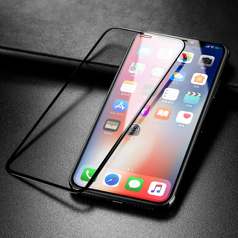 2019 new arrival 2 Pack 5d Curved Tempered Glass for iPhone 8 7 6S 6 X XR XS max 5d full cover tempered glass screen protector фото