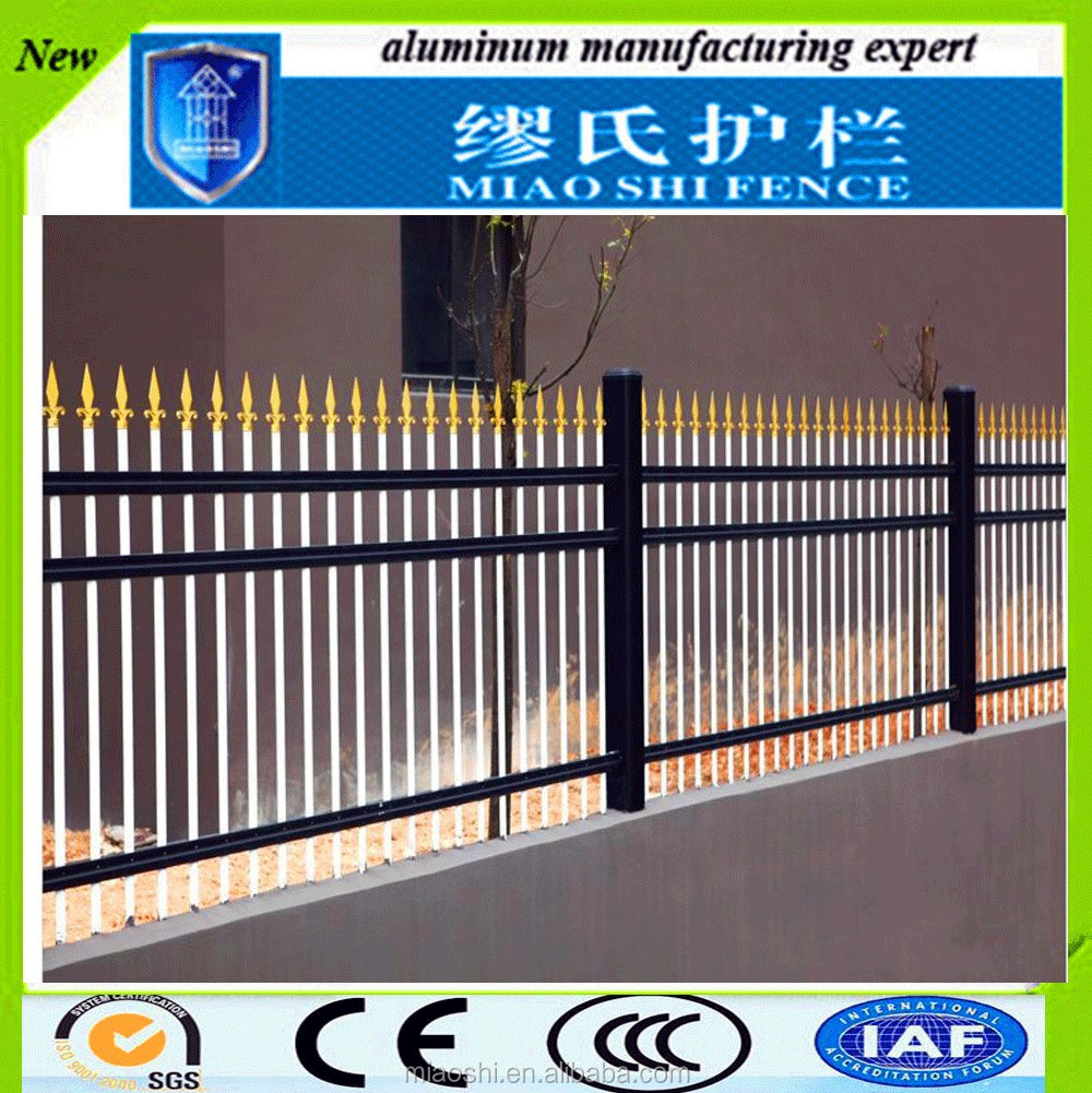 Portable safety cheap used aluminium metal veranda fencing