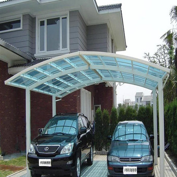 Carport Roofing Shed Car Canopy Polycarbonate Diy Carport