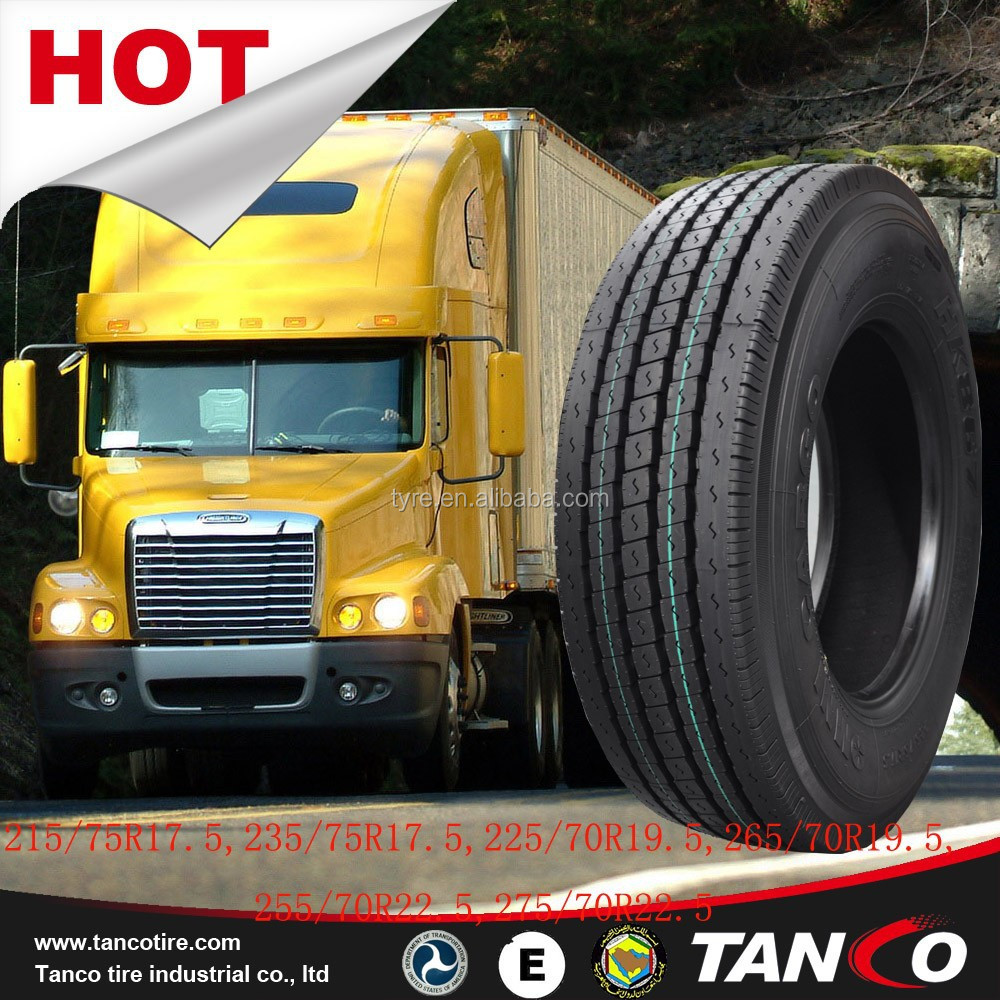China wholesale semi truck tires new technology 2005 hot sizes 215/75R17.5 235/75R17.5 225/70R19.5 265/70R19.5