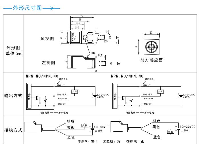 HTB1w4ZNayERMeJjSspiq6zZLFXao q18 rectangular 5mm inductive sensor pnp 3 wires proximity switch 3 wire proximity switch wiring diagram at money-cpm.com