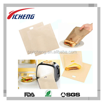 Nonstick Baking Toasting Bags Toastie Bread Bag Bagel Bag