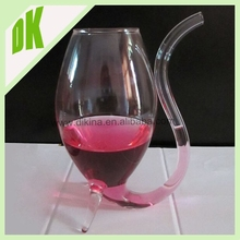 Newest Premium Reusable and eco-friendly Drink Glass // 2015 Popular hand made vampire polycarbonate wine glass