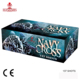 137 shots Factory direct sales CE cake fireworks pyrotechnics square consumer cake fireworks