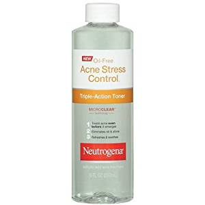 Neutrogena Oil-Free Acne Stress Control Triple-Action Toner-8 oz (Pack of 4)