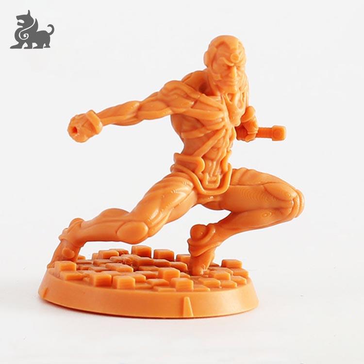 Tùy chỉnh 3D in ấn nhựa phim hoạt hình hình miniature cho hội đồng quản trị trò chơi