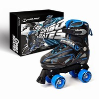 two in one inline skates/semi-soft quad inline skate full/comfortable skates