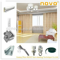 window curtain magnets for home Wireless Automation Curtain Motor/electric drapery motor produce by Guangzhou NOVO