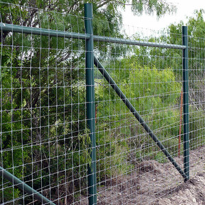 Galvanized cattle / sheep / livestock / poultry feedlot cheap farm wire fences
