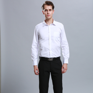 Design Cheap Uniforms Office Workwear Factory Business Uniform Shirts