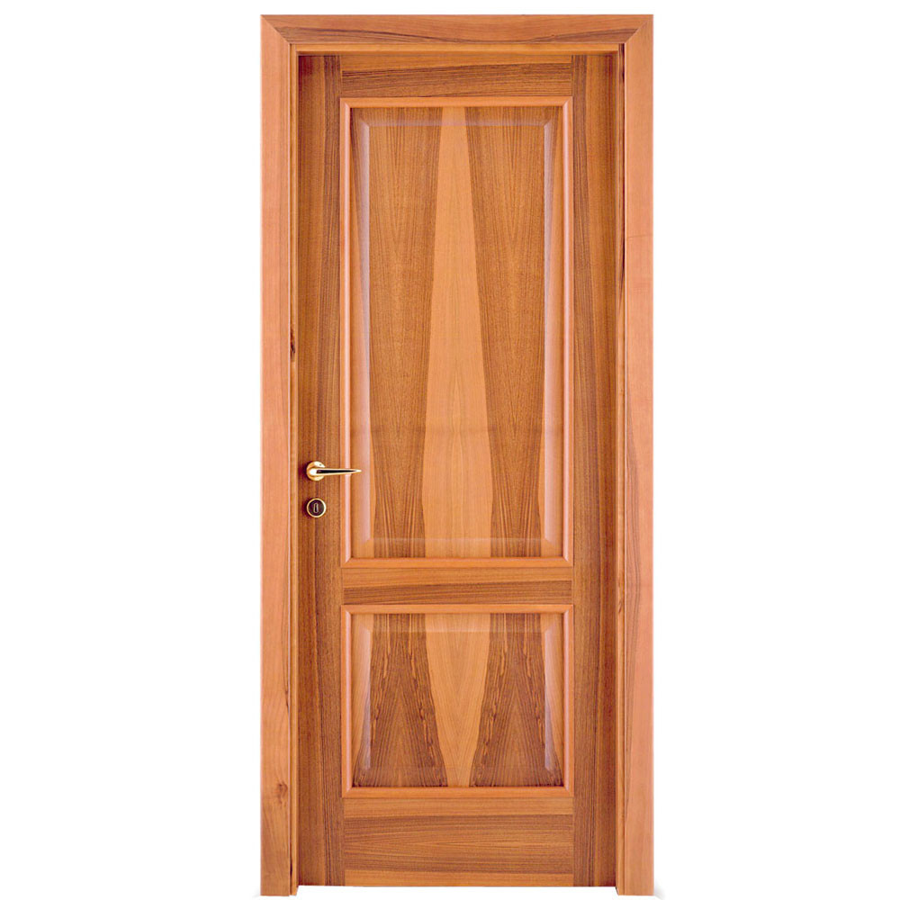 Teakwood door flat teak wood main door models designs for Wooden door pattern