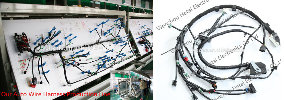 Wenzhou hetai electronics co ltd wire harness auto