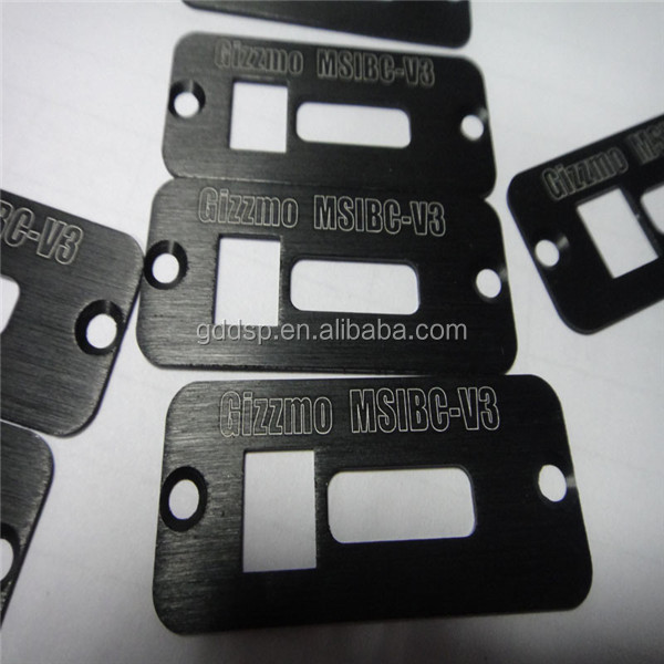 Custom stamping aluminum parts in any color by anodized process
