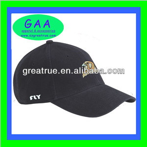 High quality 100% cotton fashionable embroidery golf cap with adjustable back strap