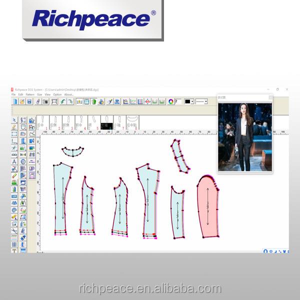 Ropa Cad Software Patrón De Diseño De Moda Clasificación Marcador ...