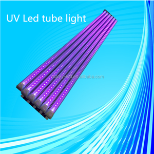 Lowest price 4ft 18w tube light led uv blacklight